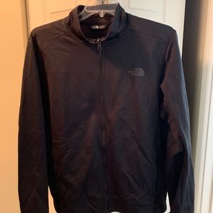 North face fleece full zip